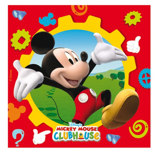 Mickey Mouse Clubhouse Party Napkins