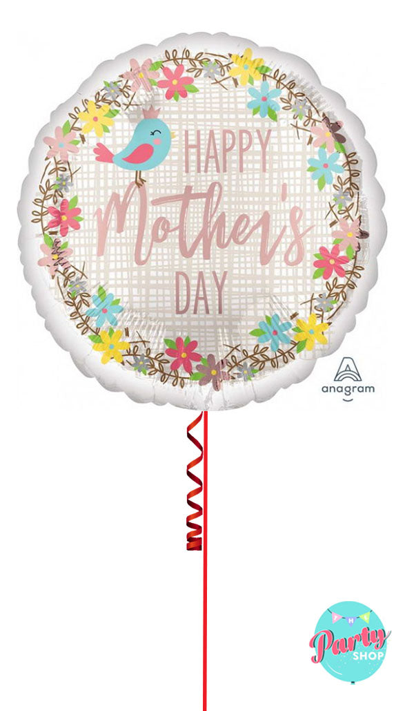 Mothers Day Pretty Bird Foil
