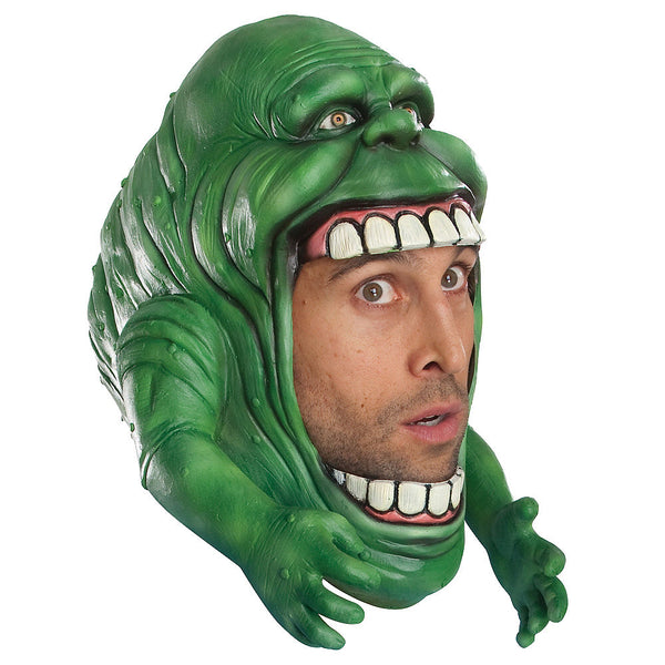 Slimer Ghostbusters Overhead Mask