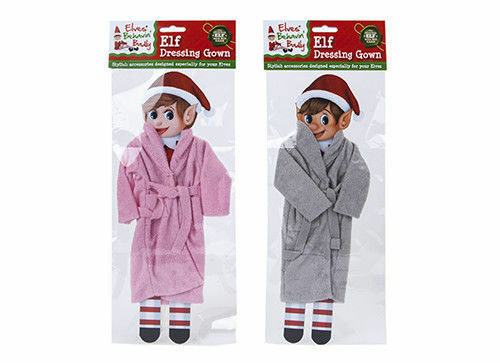 Elves Behavin' Badly -Elf Dressing Gown