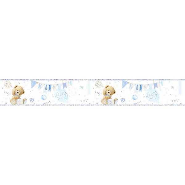 Baby Boy Large Foil Party Banner