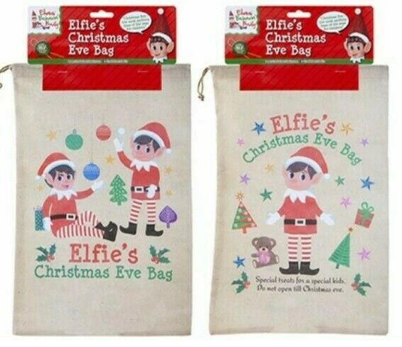 Elves Behavin' Badly - Elfie's Christmas Eve Bag