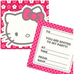 Hello Kitty Party Invites