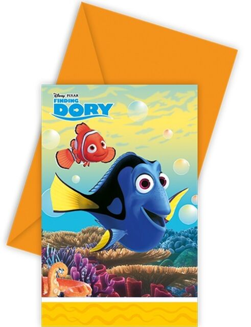 Finding Dory Invites