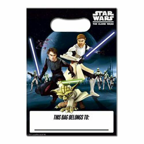 Star Wars Clone Wars Party Bags