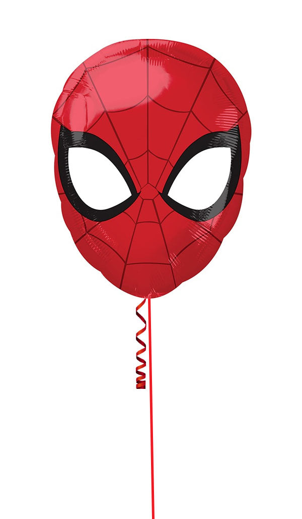 Inflated Spider Man Foil Balloon