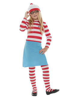 Where's Wally? Wenda Child Costume