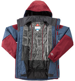 COLUMBIA ALPINE ACTION OMNI-HEAT INSULATED JACKET - MEN'S