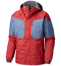Load image into Gallery viewer, COLUMBIA ALPINE ACTION OMNI-HEAT INSULATED JACKET - MEN'S