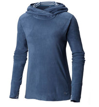 Load image into Gallery viewer, MOUNTAIN HARDWEAR MICROCHILL LITE PULLOVER HOODY - WOMEN'S