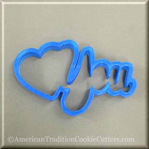 Valentines Day 3D Printed Plastic Cookie Cutters