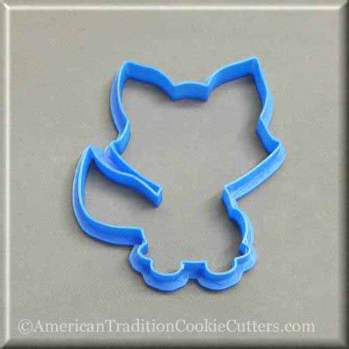 Animal 3D Printed Plastic Cookie Cutters