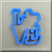 Southwest 3D Printed Plastic Cookie Cutters