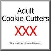 Adult Themed Cookie Cutters