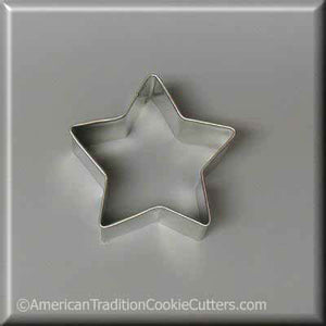 "2.5"" Star Metal Cookie Cutter - American Tradition Cookie Cutters"