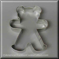 "4 ""Teddy Bear Metal Cookie Cutter-americantraditioncookiecutters"
