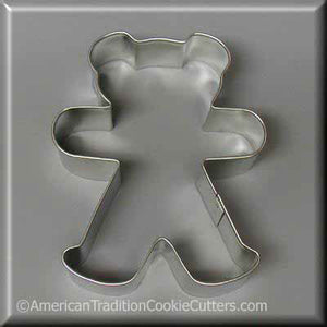 "4"" Teddy Bear Metal Cookie Cutter-americantraditioncookiecutters"