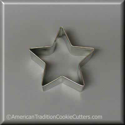 "2"" Star Metal Cookie Cutter-americantraditioncookiecutters"