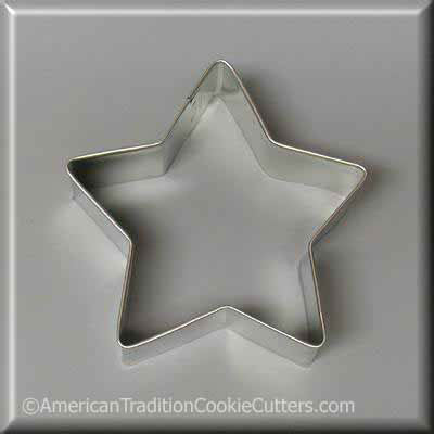 "3.5"" Star Metal Cookie Cutter-americantraditioncookiecutters"