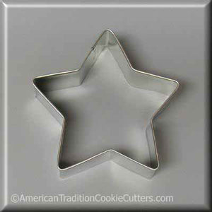 "3.5"" Star Metal Cookie Cutter - American Tradition Cookie Cutters"