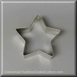 "3"" Star Metal Cookie Cutter"