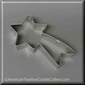 "4"" Shooting Star Metal Cookie Cutter-americantraditioncookiecutters"