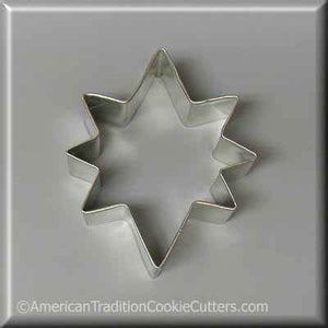 "3.5"" Star of Bethlehem Metal Cookie Cutter - American Tradition Cookie Cutters"