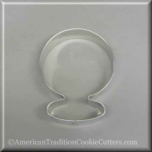 "3.5"" Snow Globe Metal Cookie Cutter-americantraditioncookiecutters"