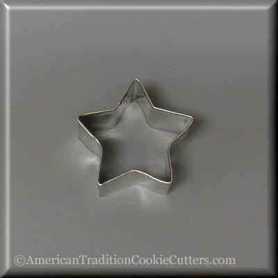 "2"" Mini Star Metal Cookie Cutter"