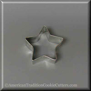 "2"" Mini Star Metal Cookie Cutter - American Tradition Cookie Cutters"