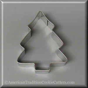 "3.5"" Christmas Tree Metal Cookie Cutter-americantraditioncookiecutters"