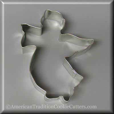 "4.75"" Flying Angel Metal Cookie Cutter-americantraditioncookiecutters"