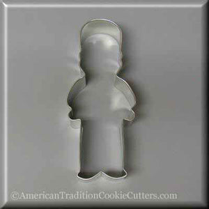 "5"" English Guard Nutcracker Metal Cookie Cutter-americantraditioncookiecutters"