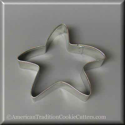 "3.25"" Folk Star Metal Cookie Cutter"
