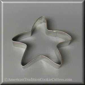 "3.25"" Folk Star Metal Cookie Cutter - American Tradition Cookie Cutters"