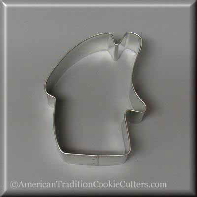 "3"" Folk Gingerbread House Metal Cookie Cutter - American Tradition Cookie Cutters"