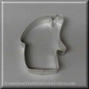 "3"" Folk Gingerbread House Metal Cookie Cutter"