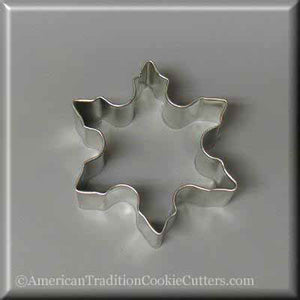 "3"" Snowflake Metal Cookie Cutter - American Tradition Cookie Cutters"