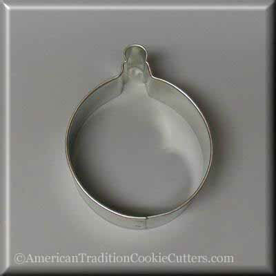 "3"" Ornament Metal Cookie Cutter-americantraditioncookiecutters"