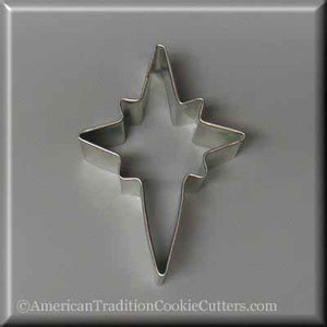 "3.5"" Star of Bethlehem Metal Cookie Cutter"