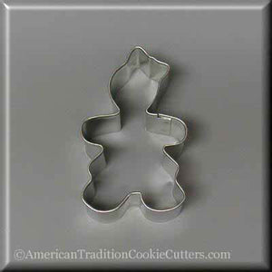 "3"" Gingerbread Girl Metal Cookie Cutter - American Tradition Cookie Cutters"
