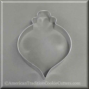 "4.25"" Christmas Ornament Metal Cookie Cutter"