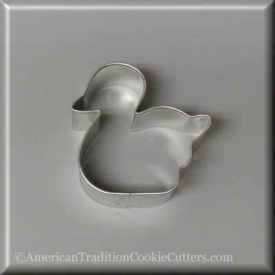 "Cortador de galletas de metal con patito 2.5 ""- American Tradition Cookie Cutters"