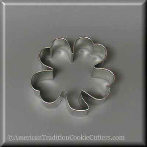 "3"" Clover Metal Cookie Cutter - American Tradition Cookie Cutters"