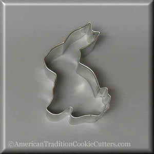 "3.25"" Sitting Bunny Metal Cookie Cutter"