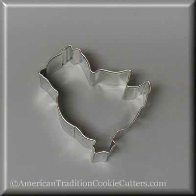 "2.5"" Chick Metal Cookie Cutter"