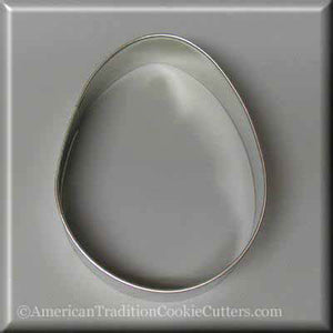 "4"" Easter Egg Metal Cookie Cutter-americantraditioncookiecutters"
