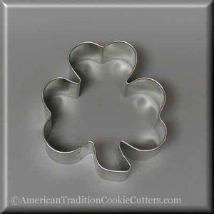 "3"" Shamrock Metal Cookie Cutter - American Tradition Cookie Cutters"