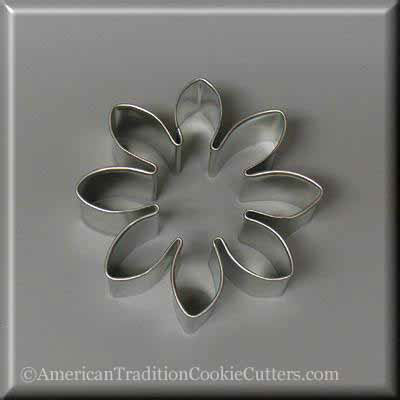 "3"" Daisy Metal Cookie Cutter - American Tradition Cookie Cutters"