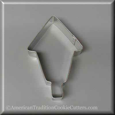 "4"" Birdhouse Metal Cookie Cutter - American Tradition Cookie Cutters"